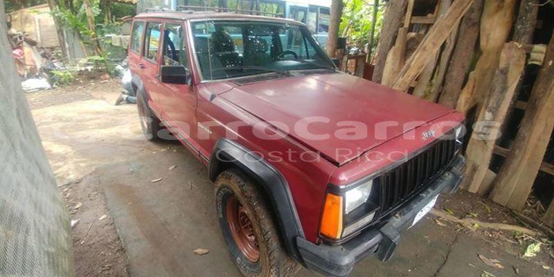 Buy Used Jeep Grand Cherokee Red Car In San Jose In Heredia